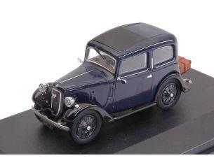 Oxford OXF43RUB002 AUSTIN SEVEN RUBY SALOON BLUE 1:43 Modellino
