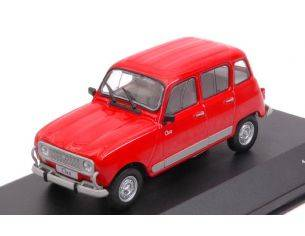 White Box WB270 RENAULT 4 CLAN RED 1:43 Modellino