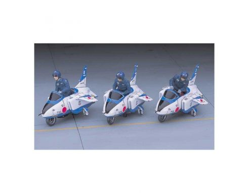 HASEGAWA 36022 X48-22 BLUE IMPULSE JR.7 1:48 KIT Modellino