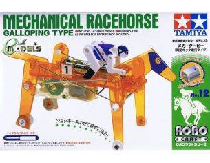 TAMIYA 71112 MECHANICAL RACEHORSE GALLOPING TYPE KIT  Modellino