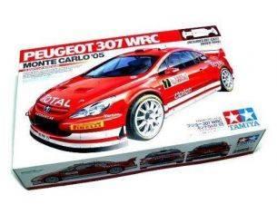 TAMIYA 285 PEUGEOT 307 WRC MONTE CARLO 05 1:24 KIT  Modellino