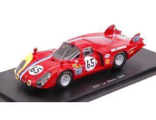 Spark Model S4371 ALFA ROMEO T33/2 N.65 DNF LM 1968 S.TROSCH-K.VON WENDT 1:43 Modellino