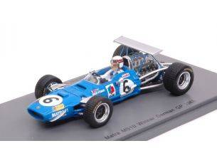Spark Model S5380 MATRA MS 10 JACKIE STEWART 1968 N.6 WINNER GERMAN GP 1:43 Modellino