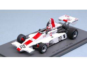 Spark Model S5671 HILL GH1 R.STOMMELEN 1975 N.22 ACCIDENT ITALY GP 1:43 Modellino