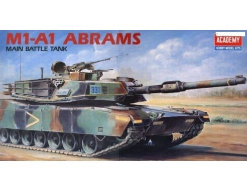 ACADEMY 1345 M1-A1 ABRAMS MAIN BATTLE TANK 1:35 Kit Modellino