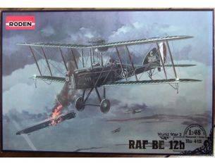 Roden 412 RAF BE 12B 1:48 Kit Modellino