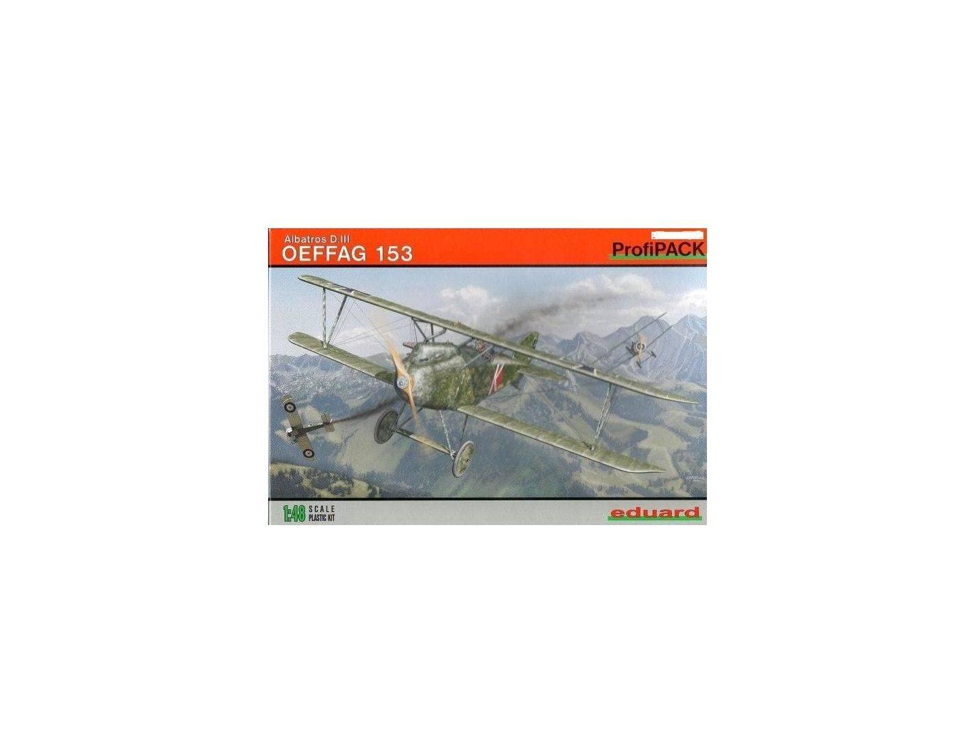 EDUARD 8241 ALBATROS D. III OEFFAG 153 1:48 KIT Modellino