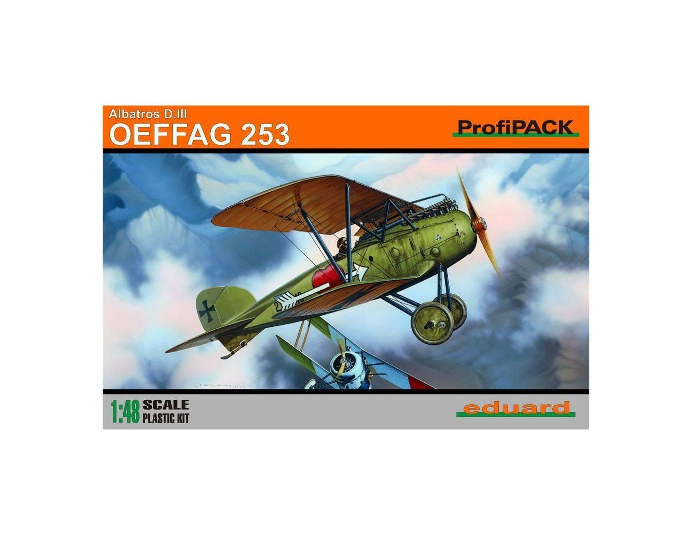 EDUARD 8242 ALBATROS D. III  OEFFAG 253 1:48 KIT Modellino