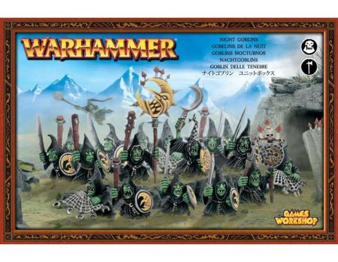 Games Workshop Warhammer 89-07 GOBLIN DELLE TENEBRE KIT Personaggi