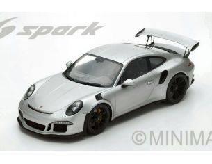 Spark Model S12008 PORSCHE 991 GT3 RS 2016 SILVER 1:12 Modellino