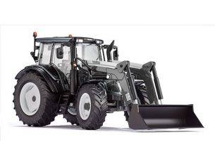 Wiking WK7327 TRATTORE VALTRA N123 C/PALA FRONTALE 1:32 Modellino