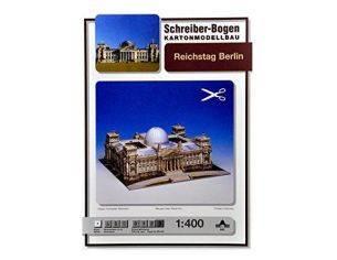 SCHREIBER BOGEN 642 REICHSTAG BERLIN 1:400 KIT Modellino