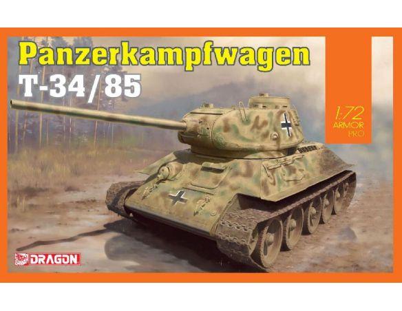 Dragon D7564 PANZERKAMPFWAGEN T-34/85  KIT 1:72 Modellino