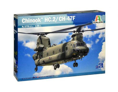Italeri IT2779 CHINOOK HC.2 CH-47F KIT 1:48 Modellino
