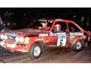 Trofeu TF1010 FORD ESCORT MK II COSSACK WINNER R.A.C. 1976 CLARK-PEGG 1:43 Modellino