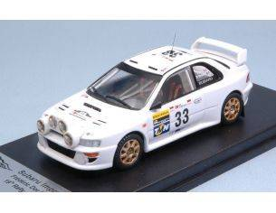 Trofeu TFRRAL54 SUBARU IMPREZA WRC N.33 19th RALLY PORTUGAL 1998 DOR-BRETON 1:43 Modellino