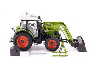 Wiking WK7829 TRATTORE CLAAS ARION 430 WITH FRONT LOADER 120 1:32 Modellino