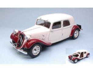 Solido SL1800901 CITROEN TRACTION 11CV 1938 CREAM/BROWN 1:18 Modellino