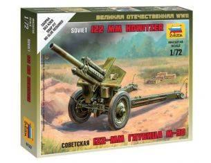 Zvezda Z6122 SOVIET HOWITZER 120 mm M30 KIT 1:72 Modellino