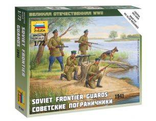 Zvezda Z6144 SOVIET FRONTIER GUARDS KIT 1:72 Modellino