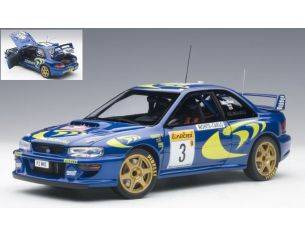 Auto Art / Gateway AA89790 SUBARU IMPREZA WRC N.3 ACCIDENT MONTE CARLO 1997 C.MC RAE-N.GRIST 1:18 Modellino