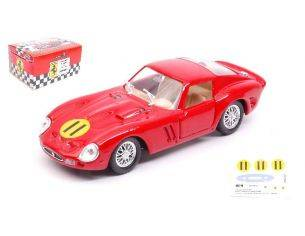 Solido SL4606 FERRARI 250 GTO N.11 WINNER TOURIST TROPHY 1963 G.HILL METAL BOX 1:43 Modellino