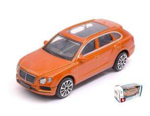 Bburago BU30384OR BENTLEY BENTAYGA 2016 ORANGE 1:43 Modellino