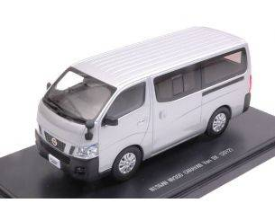 Ebbro EB45595 NISSAN NV350 CARAVAN VAN DX 2012 SILVER 1:43 Modellino