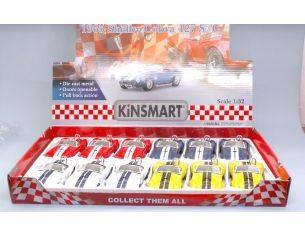KINSMART KT5322D SHELBY COBRA 427 S/C 1965 1:32 Modellino