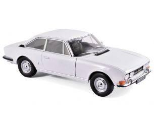 Norev NV184825 PEUGEOT 504 COUPE' 1969 AROSA WHITE 1:18 Modellino