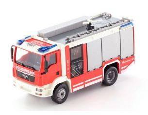 Wiking WK7612 FIRE SERVICE ROSENBAUER AG (MAN TGM) 1:43 Modellino