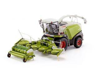 Wiking WK7812 CLAAS JAGUAR 860 FORAGE HARV.WITH ORBIS 750/PICK UP 300 1:32 Modellino
