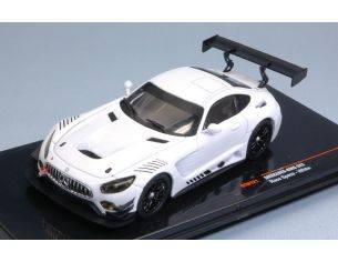 Ixo model GTM121 MERCEDES AMG GT3 WHITE RACE VERSION 1:43 Modellino