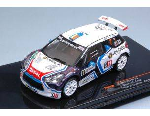 Ixo model RAM652 CITROEN DS3 N.7 WINNER RALLY DU CONDROZ-HUY 2016 C.BREEN-M.SCOTT 1:43 Modellino