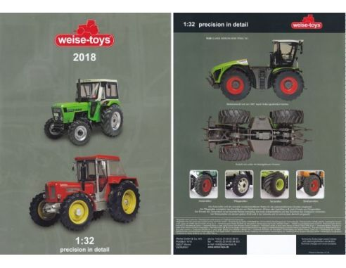 Welly Weisecat2018 Catalogo Weise 2018 Modellino Mod 232 Les