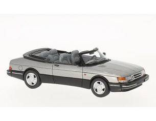 Neo Scale Models NEO43569 SAAB 900 CABRIOLET 1987 MET GREY 1:43 Modellino