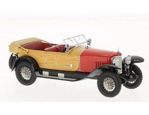 Neo Scale Models NEO46171 MERCEDES 28/95 1922 RED WOOD 1:43 Modellino