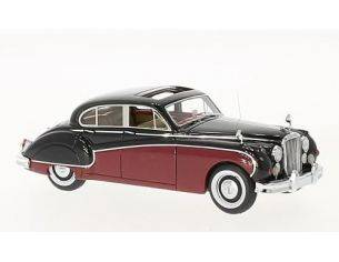 Neo Scale Models NEO49549 JAGUAR MK VIII 1955 RED/BLACK 1:43 Modellino