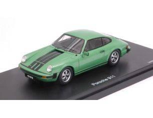 Schuco SH8919 PORSCHE 911 COUPE' GREEN/BLACK 1:43 Modellino