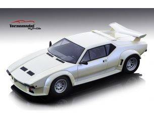 Tecnomodel TMD18105B DE TOMASO PANTERA GT5 1982 METALLIC PEARL WHITE 1:18 Modellino