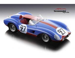 Tecnomodel TMD1851B FERRARI 500 TRC N.27 DNF LM 1957 F.TAVANO-J.PERON 1:18 Modellino