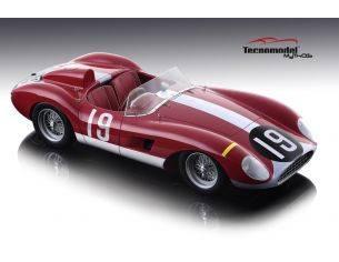 Tecnomodel TMD1851D FERRARI 500 TRC N.19 7th 1000 KM NURBURGRING 1957 G.KOCKERT-E.BAUER 1:18 Modellino