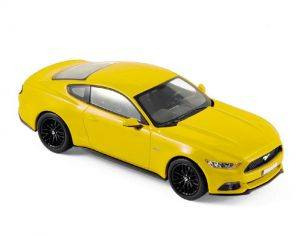 Norev NV270554 FORD MUSTANG FASTBACK 2015 YELLOW 1:43 Modellino