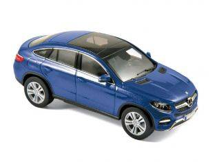 Norev NV351338 MERCEDES GLE-COUPE' 2015 BLUE METALLIC 1:43 Modellino