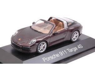 Herpa HP7113 PORSCHE 911 TARGA 4S DARK VIOLET 1:43 Modellino