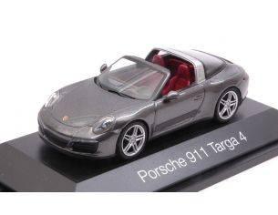 Herpa HP7115 PORSCHE 911 TARGA 4 SILVERGUN 1:43 Modellino