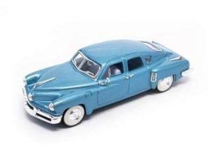 Hot Wheels LDC43201BL TUCKER TORPEDO 1948 BLUE 1:43 Modellino