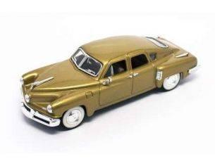 Hot Wheels LDC43201GD TUCKER TORPEDO 1948 GOLD 1:43 Modellino