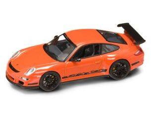 Hot Wheels LDC43204OR PORSCHE 997 GT 3 RS 2006 ORANGE 1:43 Modellino
