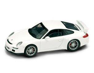 Hot Wheels LDC43205W PORSCHE 997 GT 3 WHITE 1:43 Modellino